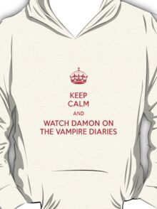 Damon ~~ VAmpire Diaries T-Shirt