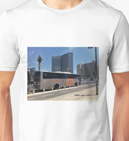 Bus in the City Unisex T-Shirt