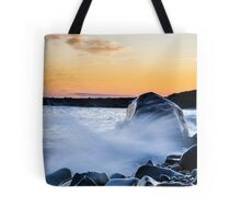 Waves Splash Tote Bag