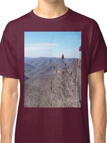 Scenic Appalachian Mountains Overlook Classic T-Shirt