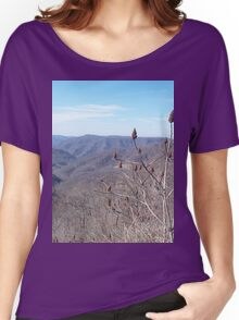Scenic Appalachian Mountains Overlook Women's Relaxed Fit T-Shirt