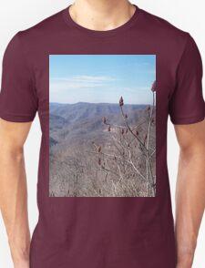 Scenic Appalachian Mountains Overlook Unisex T-Shirt