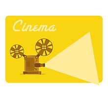 Cinema Photographic Print