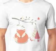 Christmas baby fox 06 Unisex T-Shirt