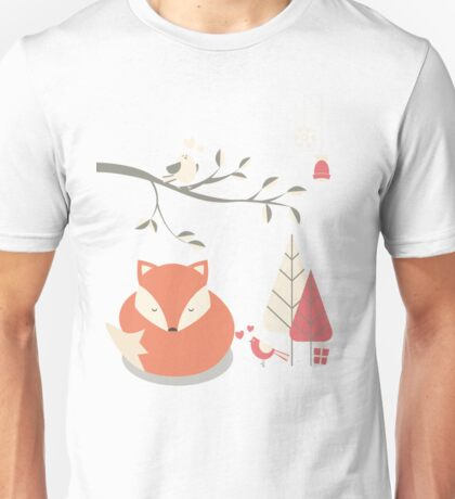 Christmas baby fox 06 Unisex T-Shirt