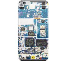 Inside iPhone PCB Blue iPhone Case/Skin
