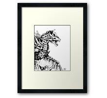 Alduin, the World Eater Framed Print