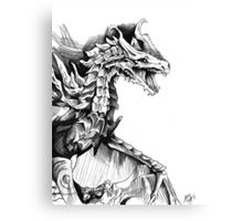 Alduin, the World Eater Canvas Print