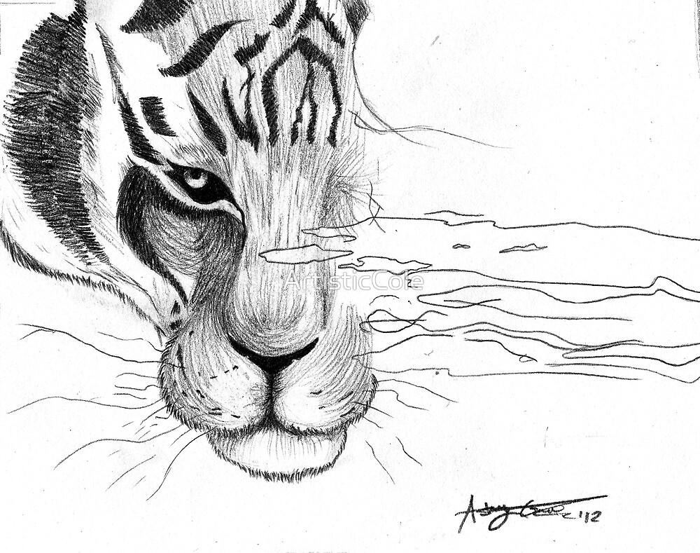 Tiger, tiger, burning bright by ArtisticCole