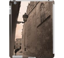 Walking the historic streets iPad Case/Skin