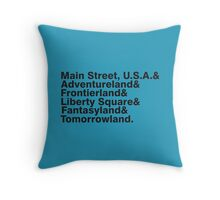 The Kingdom's Lands Throw Pillow