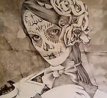 A Portrait Of Ms Gray ( Work In Progress ) by John Dicandia ( JinnDoW )