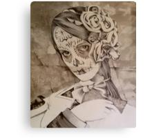 A Portrait Of Ms Gray ( Work In Progress ) Canvas Print