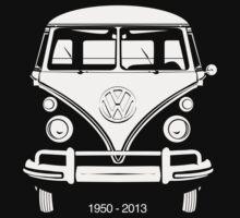 VW BUS, 1950-2013  Kids Tee
