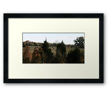 OverTheHill Framed Print