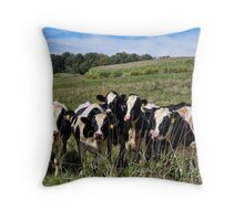 Best of Bovine Throw Pillow