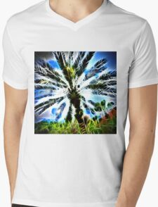 Exploding Spikes and Hearts Mens V-Neck T-Shirt