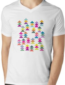 Lost in a Forest Mens V-Neck T-Shirt