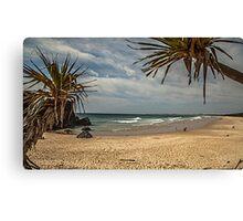 Dreamtime Beach Fingal Head Canvas Print