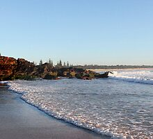Peacefull Cabarita Beach by Ron Finkel