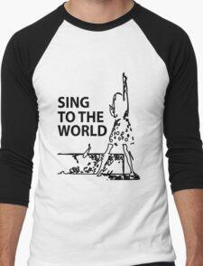 sing to the world Men's Baseball ¾ T-Shirt