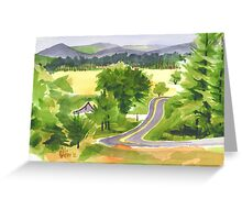 That Ribbon of Highway Greeting Card