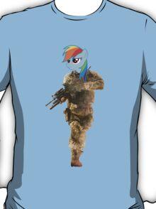 Rainbow Dash War Pony T-Shirt