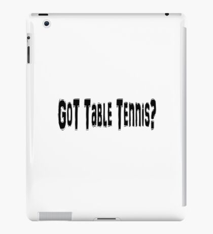 Table Tennis iPad Case/Skin