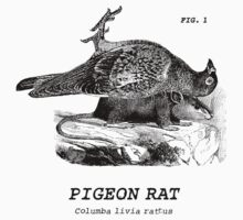 The almighty Pigeon Rat One Piece - Long Sleeve