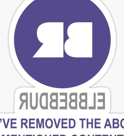 rudbubble Sticker