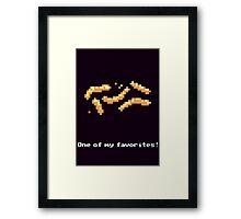 Monkey Island - Cheese squigglies Framed Print