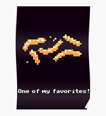 Monkey Island - Cheese squigglies Poster