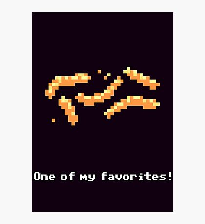 Monkey Island - Cheese squigglies Photographic Print