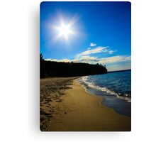 Miner's Beach Canvas Print