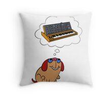 The Moog thinks of Moog Throw Pillow