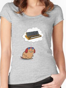 The Moog thinks of Moog Women's Fitted Scoop T-Shirt