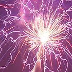 Abstract Fireworks by lindsycarranza