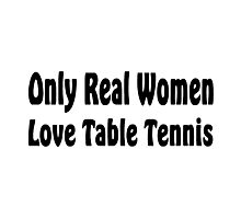 Table Tennis Photographic Print