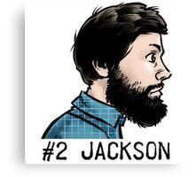 #2 Jackson Canvas Print