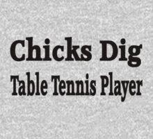 Table Tennis One Piece - Short Sleeve