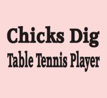 Table Tennis Baby Tee