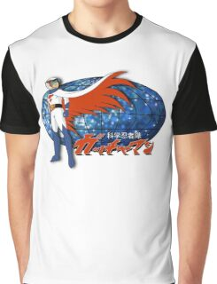 Gatchaman Ken The Eagle Graphic T-Shirt