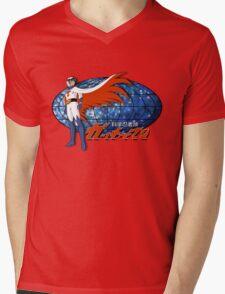 Gatchaman Ken The Eagle Mens V-Neck T-Shirt