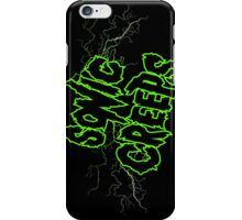 Sonic Creeps Green Lightning Cell Case  iPhone Case/Skin