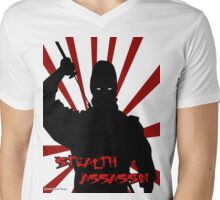 Stealth Assassin Mens V-Neck T-Shirt