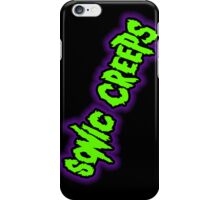 Sonic Creeps Green & Purple Cell Case  iPhone Case/Skin