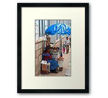 Corner Shop. Framed Print