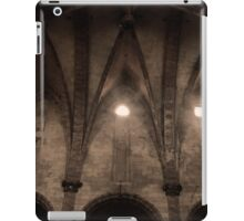 and the lord said let there be light iPad Case/Skin