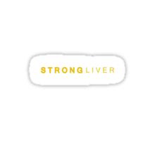 Liver strong Sticker