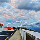 Lighthouse Cloudscape - Byron Bay by Cheryl Styles